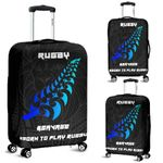 New Zealand Rugby Lion Luggage Cover, Maori Silver Fern Suitcase Covers K5 - 1st New Zealand