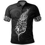 New Zealand Polo Shirt, Light Silver Fern Golf Shirts - White K5 - 1st New Zealand