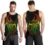 New Zealand Tank Tops, Maori Humpback Whale Tattoo Sleeveless Shirts K4 - 1st New Zealand