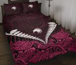 Quilt Bed Set NZ Kiwi Fern Pink K4 - 1st New Zealand
