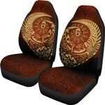 New Zealand Maori Warrior Tattoo Tangaroa Car Seat Covers K4 - 1st New Zealand