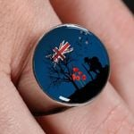 Remembering The Anzacs New Zealand Ring K5 - 1st New Zealand