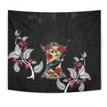 New Zealand Tapestry  - Tui and Pohutukawa K5 - 1st New Zealand