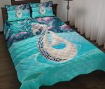 New Zealand Quilt Bed Set, Maori Manaia and Paua Shell Quilt Pillow Cover K5 - 1st New Zealand