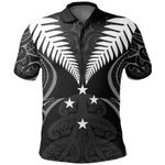 Silver Fern Polo Shirt Lost In Forest K7 - 1st New Zealand
