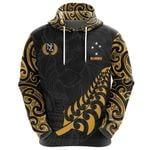 New Zealand Rugby Hoodie, Maori Lion Rugby Pullover Hoodie K5 - 1st New Zealand