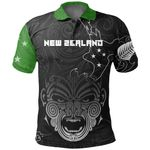 New Zealand Maori Ta Moko Polo Green K5 - 1st New Zealand