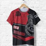 New Zealand Shirt, Koruru Tiki Maori Tattoo T-Shirt Th00 - 1st New Zealand