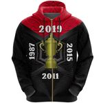 New Zealand Zip Hoodie Champion Rugby World Cup 2019 K4 - 1st New Zealand