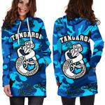 Tangaroa God Sea Hoodie Dress Aotearoa K4 - 1st New Zealand