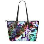 Paua Shell Large Leather Tote TH5 - 1st New Zealand