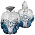 Whale Tail Manaia New Zealand Hoodie Custom Personalized K5 - 1st New Zealand
