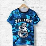 New Zealand Tangaroa God Sea T Shirt K4 - 1st New Zealand
