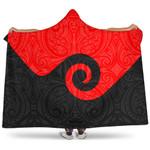 New Zealand Maori Koru Hooded Blanket K4 - 1st New Zealand