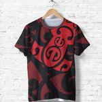 New Zealand Shirt, Maori Mangopare T Shirt Th00 - 1st New Zealand