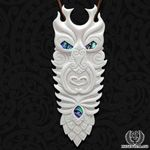 Tane Bone Carving Necklace - 1st New Zealand