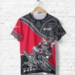New Zealand Rugby Shirt, Rugby Maori T-Shirts K7 - 1st New Zealand