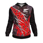 New Zealand Maori Rugby Hoodie K4 - 1st New Zealand