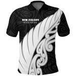 New Zealand Silver Fern Wing Polo T Shirt K4 - 1st New Zealand