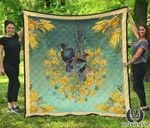 Tui Bird Lover And Kowhai Quilt K7 - 1st New Zealand