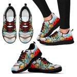 New Zealand Sneakers, Fantail Pohutukawa Trainers K5 - 1st New Zealand
