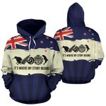 New Zealand Where My Story Begins Hoodie K5 - 1st New Zealand