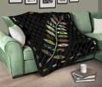 New Zealand Things With Fern Design Quilt K57 - 1st New Zealand