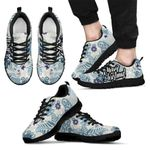 New Zealand Merry Christmas Sneakers, Silver Fern Trainers H1 - 1st New Zealand