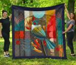Tui Bird Art Design Quilt K57 - 1st New Zealand