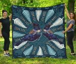 Tui Silver Fern Art Quilt NN85 - 1st New Zealand