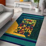 Pohutukawa New Zealand Art Area Rug K57 - 1st New Zealand