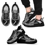 New Zealand Sneakers,  Maori Silver Fern Trainers TH90 - 1st New Zealand