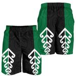 New Zealand Shorts, Koru Fern Flag Men's All Over Print Board Shorts K413 - 1st New Zealand