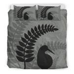 New Zealand Silver Fern Bedding Set, Kiwi Bird Duvet Cover And Pillow Case TH1 - 1st New Zealand
