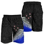 Silver Fern Style Men Shorts Blue K413 - 1st New Zealand