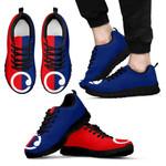 New Zealand Sneakers, Koru Flag Trainers K5 - 1st New Zealand