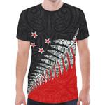 New Zealand Shirt, Maori Silver Fern T-Shirts K413 - 1st New Zealand