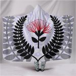 New Zealand Silver Fern Pohutukawa Hooded Blanket TH1 - 1st New Zealand
