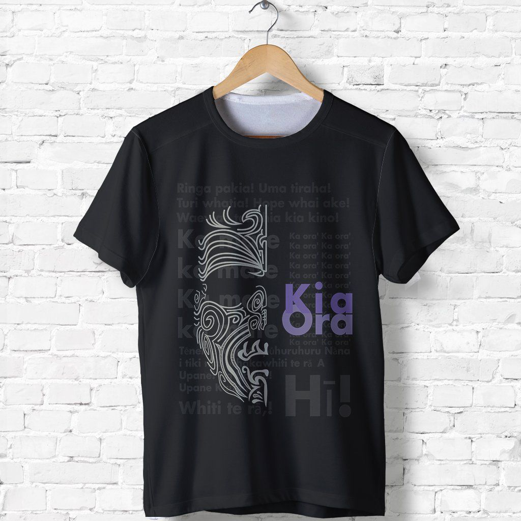 New Zealand Shirt, Kia Ora Maori Ta Moko T-Shirt K5 - 1st New Zealand