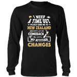 Send Me To New Zealand And Don t Let Me Comeback T shirt K5 - 1st New Zealand