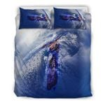 New Zealand Map And Flag Bedding Set K3 - 1st New Zealand