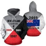New Zealand World Cup Champions Hoodie K4 - 1st New Zealand