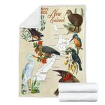 New Zealand Poster - Native Birds Blanket K5 - 1st New Zealand