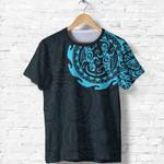 New Zealand Maori Tattoo Tangaroa T Shirt A75 - 1st New Zealand