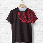 New Zealand Shirt, Maori Tangaroa Tattoo T Shirt A75 - 1st New Zealand