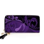 New Zealand Silver Fern Wallet Purple - 1st New Zealand
