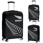 New Zealand Rugby Luggage Cover, Silver Fern Suitcase Covers K4 - 1st New Zealand