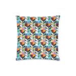 New Zealand Pohutukawa Pattern Zippered Pillow Cases 04 K5 - 1st New Zealand