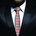 New Zealand Neck Tie, Maori Pattern Classic Necktie (Two Sides) 01 K4 - 1st New Zealand