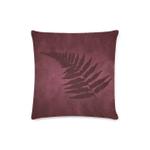 Silver Fern New Zealand Zippered Pillow Case - Red A05 - 1st New Zealand